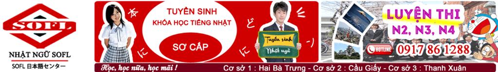 Tiếng Nhật cơ bản- Trung tâm tiếng Nhật tốt nhất Hà Nội