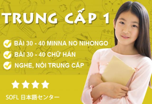 Khóa học tiếng Nhật trung cấp 1