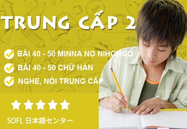 Khóa học tiếng Nhật trung cấp 2 tháng 10/2016
