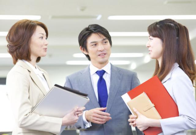 Chào hỏi ở công ty Nhật