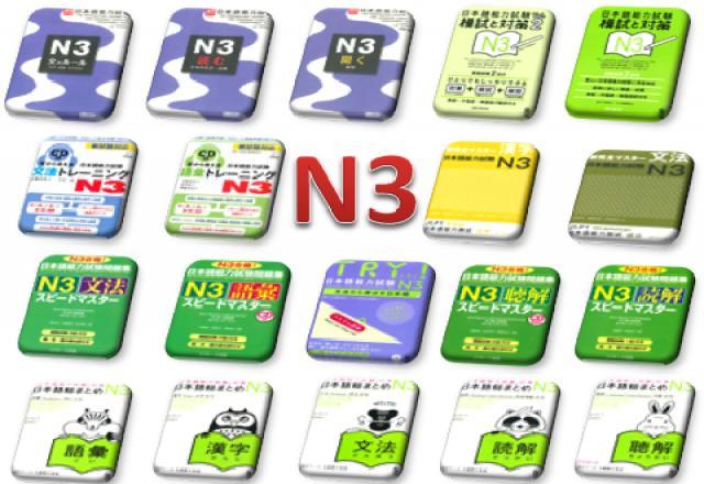 Tài liệu học tiếng Nhật N4 phần Kanji, từ vựng và ngữ pháp