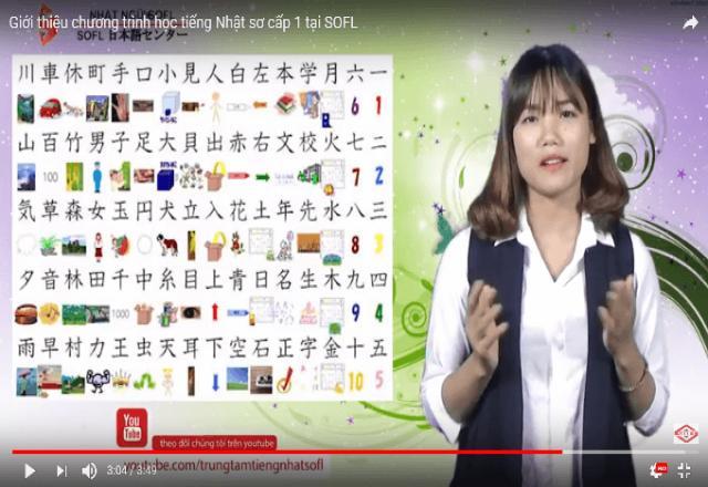 """Video học tiếng Nhật """"cực chất"""" SOFL mang đến cho bạn"""