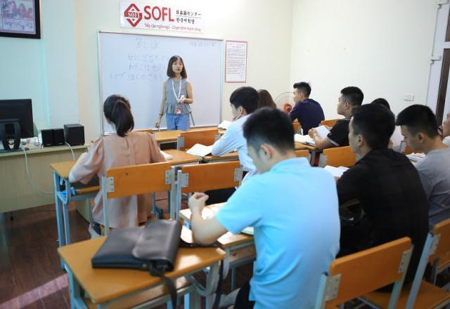 Khóa học tiếng Nhật cấp tốc của Nhật Ngữ SOFL