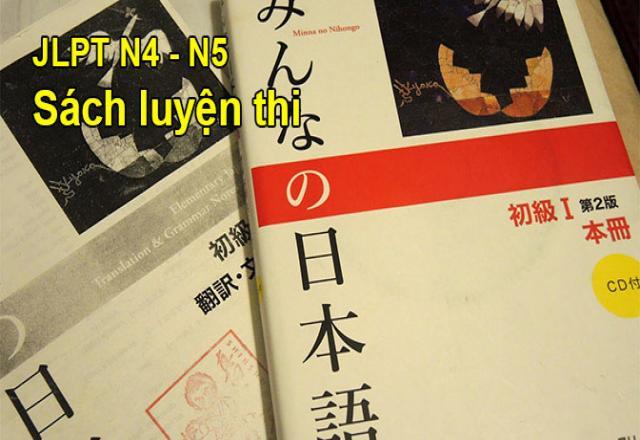 Tổng hợp sách luyện thi tiếng Nhật JLPT chinh phục N5