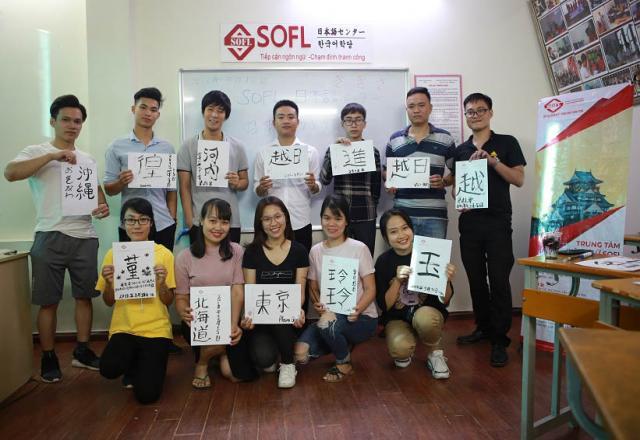 Khóa học tiếng Nhật cấp tốc N5 tại Trung tâm tiếng Nhật SOFL