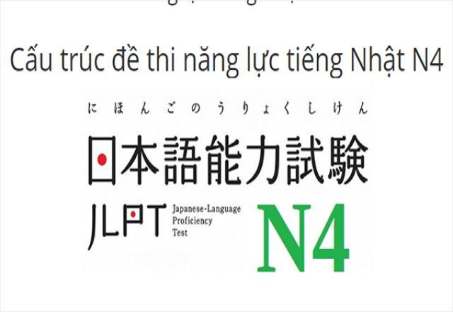 Tìm hiểu cấu trúc đề thi N4