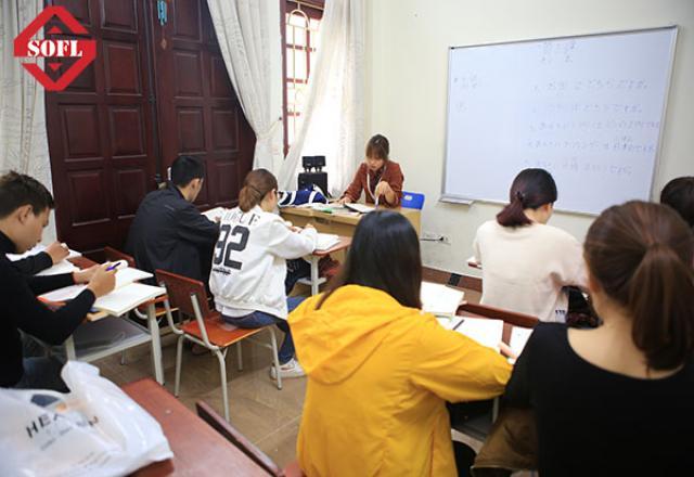 Các khóa học tiếng Nhật tại Trung tâm tiếng Nhật SOFL