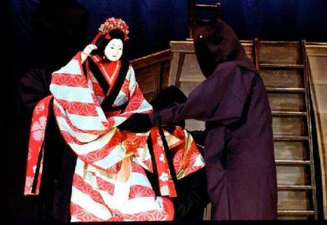 Cực độc đáo nghệ thuật kịch rối Bunkaru của Nhật Bản