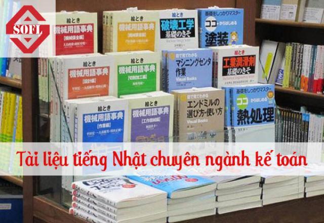 Tài liệu tiếng Nhật chuyên ngành kế toán hữu ích nhất