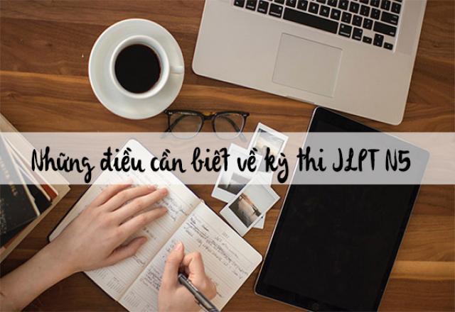 Nắm vững kiến thức để ôn luyện thi tiếng Nhật N5 tốt hơn