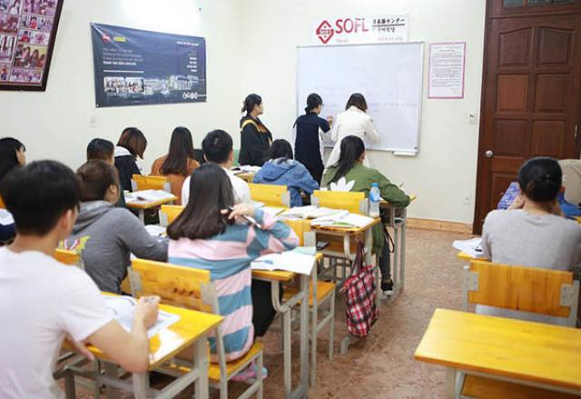 Khóa học tiếng Nhật N5 tại SOFL